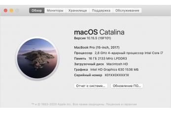 Как узнать модель MacBook, Mac