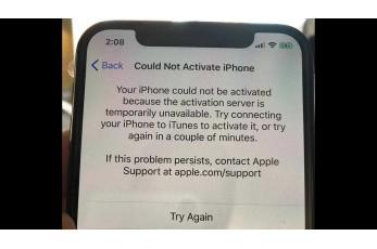 Что делать, если не получается активировать Айфон?
