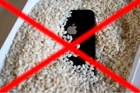 Ремонт и чистка после попадания влаги iPhone