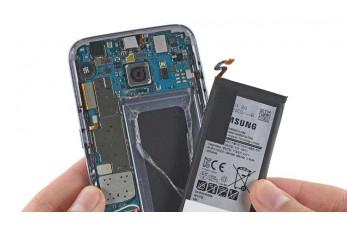 Замена аккумулятора (батареи) Samsung