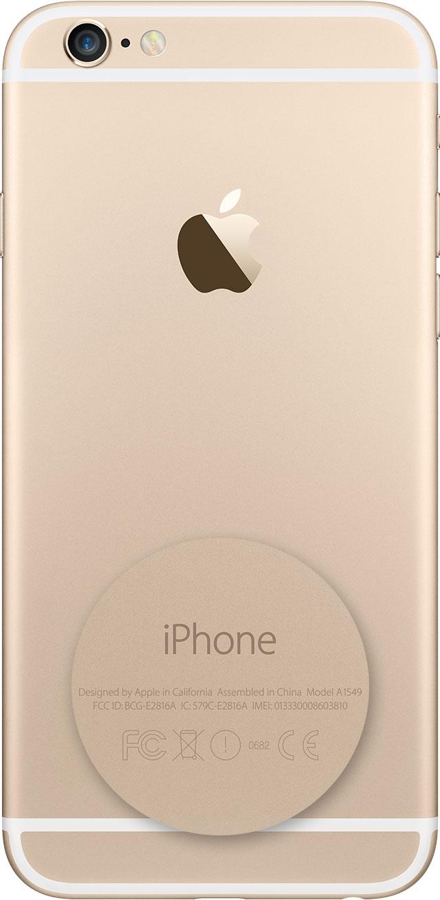 На iPhone 7 или более ранней версии, iPad или iPod touch номер модели нанесен на обратную сторону устройства