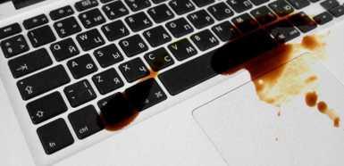 ремонт макбук после воды